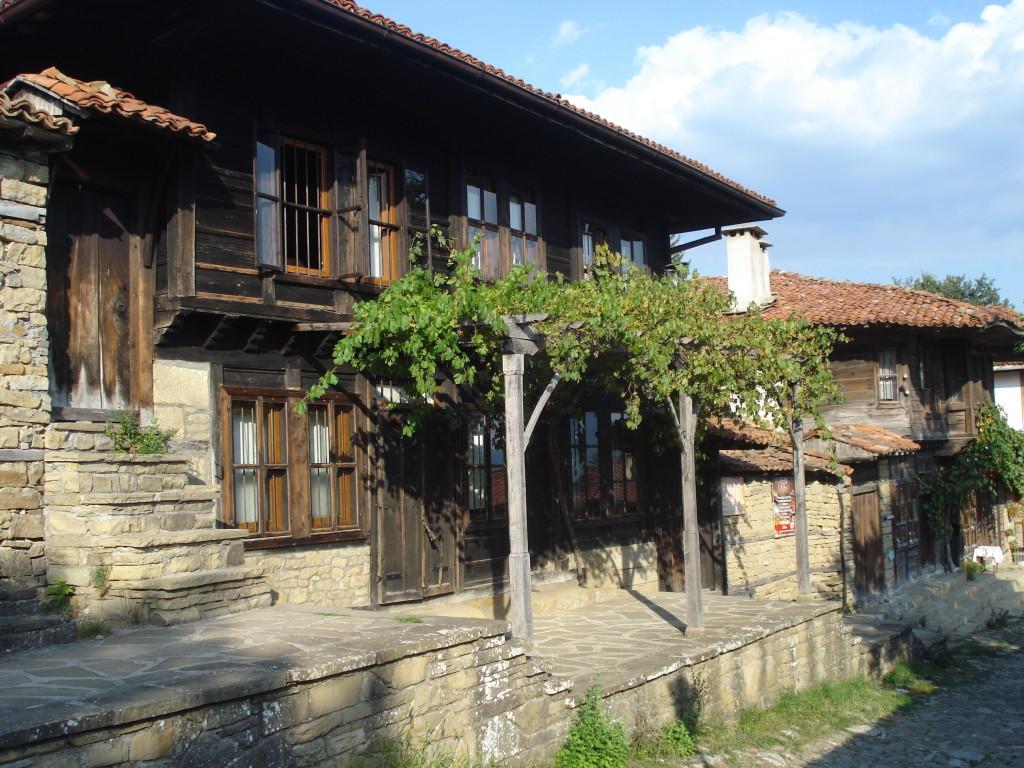 Къщите в Жеравна